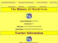 The History of Mardi Gras Lesson Plan