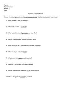 The Hobbit Worksheets Worksheets For School - Studioxcess