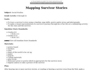 The Holocaust: Mapping Survivor Stories Lesson Plan