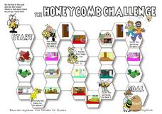 The Honeycomb Challenge: House Terms Worksheet
