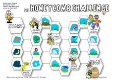 The Honeycomb Challenge: Nature Worksheet