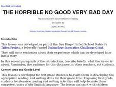 The Horrible No Good Very Bad Day Lesson Plan