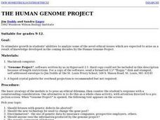 The Human Geonome Project Lesson Plan