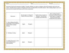 Printables Hunger Games Worksheets the hunger games anticipatory set 7th 12th grade worksheet worksheet