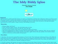The Iddy Biddy Igloo Lesson Plan