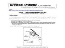 The Interplanetary Magnetic Field (IMF) Lesson Plan