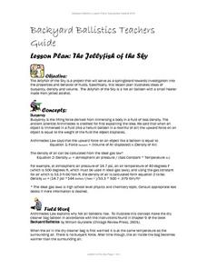 The Jellyfish of the Sky Lesson Plan