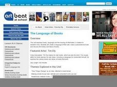 The Language of Books - Activity 1 Lesson Plan