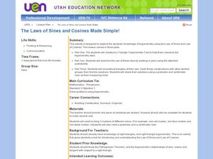 The Laws of Sines and Cosines Made Simple! Lesson Plan