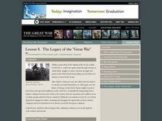 "The Legacy of the ""Great War"" Lesson Plan"