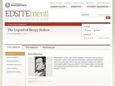 The Legend of Sleepy Hollow Lesson Plan