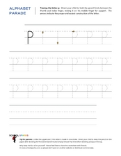 The Letter P Worksheet