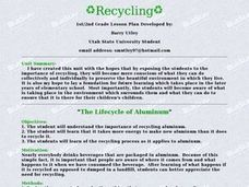 The Lifecycle of Aluminum Lesson Plan