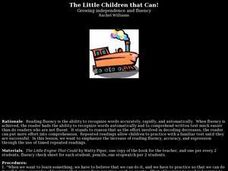 The Little Children That Can: Growing Independence and Fluency Lesson Plan