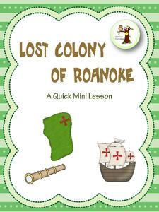 The Lost Colony of Roanoke Lesson Plan