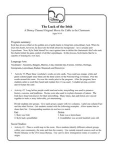 The Luck of the Irish Lesson Plan