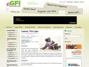 The Luge Lesson Plan
