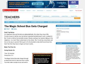 The Magic School Bus Gets Charged Lesson Plan
