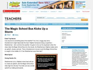 The Magic School Bus Kicks Up a Storm Lesson Plan