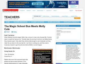 The Magic School Bus Meets Molly Cule Lesson Plan