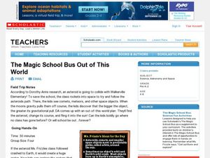 The Magic School Bus Out of this World Lesson Plan