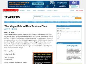 The Magic School Bus Takes a Dive Lesson Plan