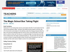 The Magic School Bus Taking Flight Lesson Plan