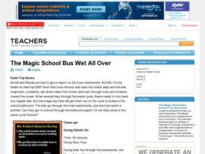 The Magic School Bus Wet All Over Lesson Plan