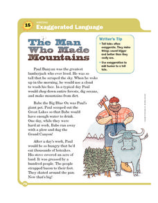 The Man Who Made Mountains Worksheet