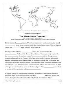 Mayflower Compact Worksheet Worksheets For School - Studioxcess