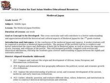 The Medieval Japan Portfolio Lesson Plan