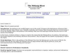 The Mekong River Lesson Plan