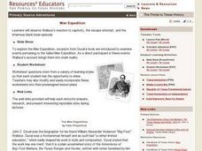 The Mier Expedition Lesson Plan