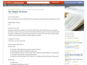 The Mighty Elements Lesson Plan