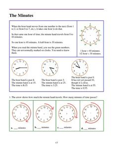 The Minutes Lesson Plan