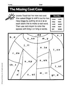 The Missing Coat Case Worksheet