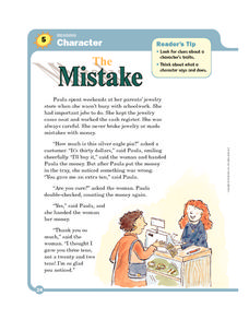 The Mistake Worksheet
