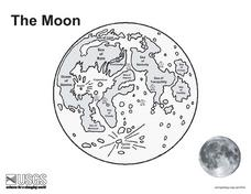 The Moon Map Lesson Plan