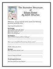 ethan frome foreshadowing plot and conflict Teach a horseman in the sky,  ethan frome - edith wharton  faith and their sometimes-conflict with military duty.