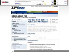 The New York School: Action and Abstraction Lesson Plan