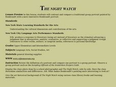 The Night Watch Lesson Plan