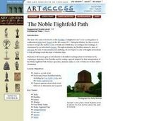 The Noble Eightfold Path Lesson Plan