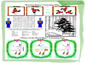 The Nutcracker by Piotr Ilyich Tchaikovsky Worksheet