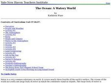 The Ocean: A Watery World Lesson Plan