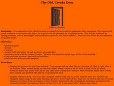 The Old, Creaky Door Lesson Plan