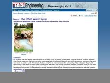 The Other Water Cycle Lesson Plan