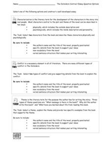 the lesson essay questions Interesting personal essay ideas a hard lesson i have received answer to all of my questions connected with essay writing and idea generation.