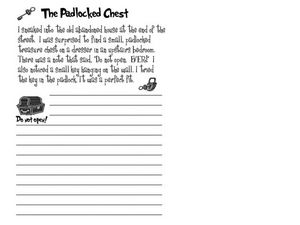 """The Padlocked Chest"" Worksheet"