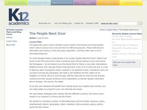 The People Next Door Lesson Plan