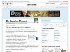 The Persuasive Art of Portraiture Lesson Plan